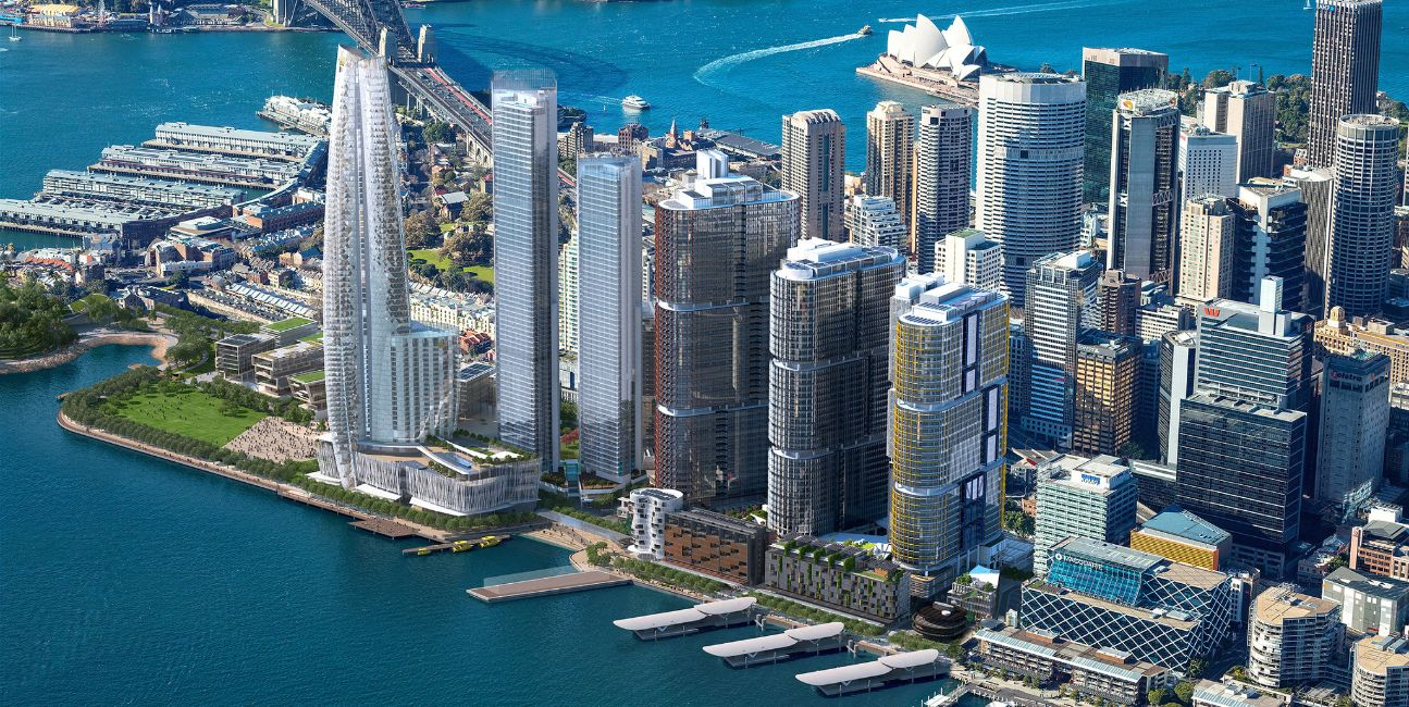 Barangaroo South by Lendlease . Developer for Park Place Residences Paya Lebar